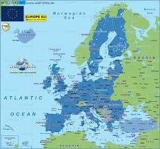European Countries Map Map Of European Union Eu Serveral Countries Map In The Atlas
