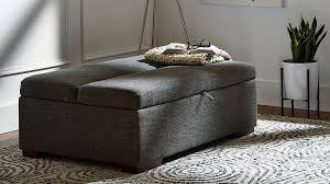 Pull Out Ottoman Bed S Furniture Line Rivet Has An Ottoman That S Also A Guest Bed