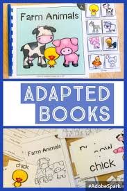 Special Education Worksheets Adapted Book Guided Reading Lesson Farm Animals Reading Lessons