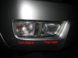 4runner fog light bulb 4runner front turn signal fog light bulbs replacement guide 001