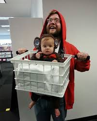 50 genius costume ideas for parents with baby carriers