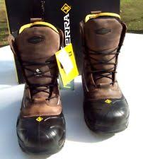 s cold weather boots size 12 terra crossbow xs 915507 s work boots size 12 ebay