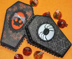 the avid scrapper halloween coffin treat boxes
