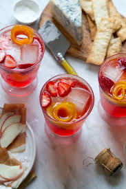summer break aperol spritz punch recipe happy hour prosciutto