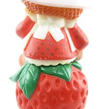 strawberry shortcake ornament vintage christmas tree decoration