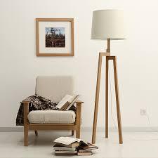Japanese Floor Lamp Genuine Creative Modern Japanese Garden Wood Living Room Floor