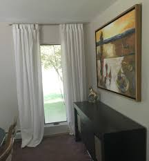 Hanging Curtains High And Wide Designs Dining Room Updates U2013 The Happy House Project