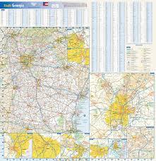 Atlanta Street Map Mapsherpa Globe Turner