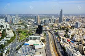 aerial skyline of tel aviv israel stock photo picture and