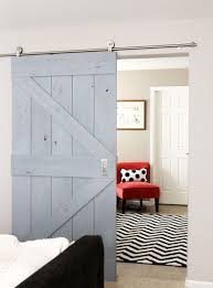 Glass Barn Doors Interior by Barn Door Design Company Large Trendy Entry Hall Photo In Orange