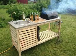 fabriquer cuisine exterieure fabriquez votre cuisine mobile extérieure à barbecue intégré