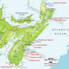 map of canada east coast map east coast canada usa maps us country maps