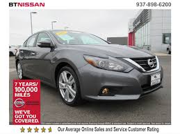 nissan altima limited 2016 certified pre owned 2016 nissan altima 3 5 sl 4dr car in vandalia