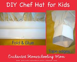 remy u0027s diy chef hat craft for kids enchanted homeschooling mom