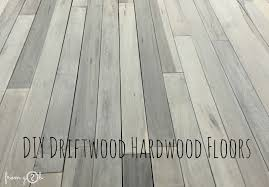 from gardners 2 bergers diy driftwood hardwood floors
