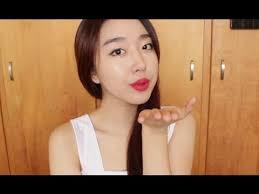 tutorial kiss korean korean kiss proof waterproof date make up tutorial youtube