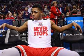 basketball player on bench ranking the 5 best ohio state buckeyes in the nba