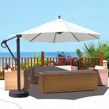 Outdoor Patio Umbrella 887 Galtech 11 Galtech Offset Umbrella Easy Open Easy Move