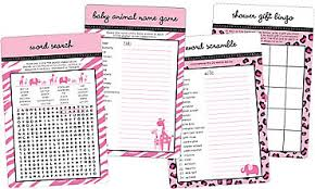 wedding words for bingo baby shower baby shower bingo party city