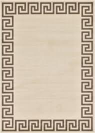 Modern Design Area Rugs by Modern Greek Design Border Area Rug Contemporary Large Soft Carpet