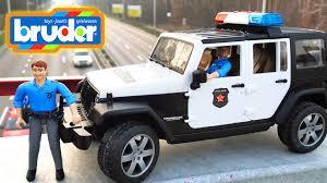 police jeep wrangler брудер машинка полицейский джип разберём на много деталей игрушки