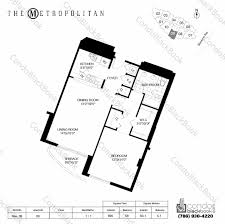 Metropolitan Condo Floor Plan Metropolitan At Brickell Unit 2709 Condo For Sale In Brickell