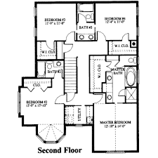European Floor Plans European Style House Plan 5 Beds 3 50 Baths 2686 Sq Ft Plan 325 225