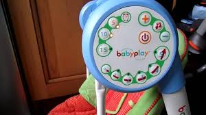 Baby Electric Swing Chair Mamas And Papas Starlite Baby Swing Suitable Youtube