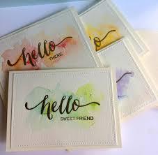 handmade watercolor cards handmade card sets