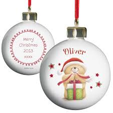 personalised forever friends bauble forever friends