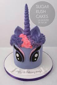 pony cake my pony twilight sparkle unicorn sugar cakes