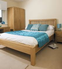 Contemporary Wooden Bedroom Furniture Contemporary Oak Bedroom Furniture With Bright Concept