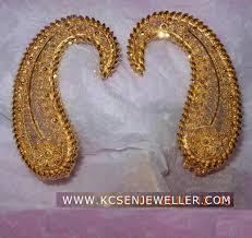 design of gold earrings ear tops bengali traditional gold jewellery ear top design jewelry
