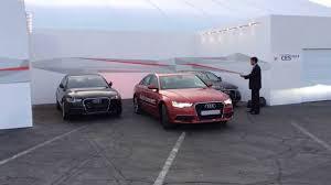 audi a7 parking audi autonomous car parking ces 2014