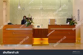 Hotel Lobby Reception Desk by Modern Hotel Reception Desk Stock Photo 6022867 Shutterstock