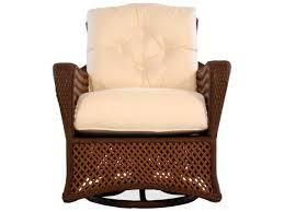 Wicker Lounge Chair Lloyd Flanders Grand Traverse Wicker Cushion Arm Swivel Rocker