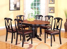 bedroom personable oval dinette kitchen dining set table wood