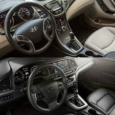 hyundai tucson 2015 interior how the 2016 hyundai elantra value and 2017 edition compare