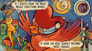 marc chagall illustrator painter biography com