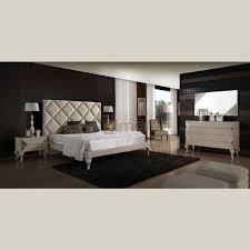 meuble elmo chambre chambre adulte lit tête de lit chevet commode armoire miroir 2