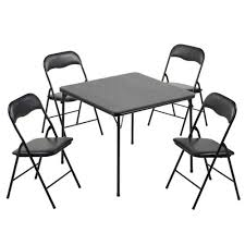 5 Piece Folding Table And Chair Set Academy Sports Outdoors 5 Piece Folding Padded Set Academy