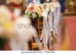 Wedding Flower Christian Wedding Flower Decoration Stock Photo 370613318