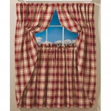 Checkered Kitchen Curtains Blue Plaid Kitchen Curtains 4 Captivating Country Blue Kitchen