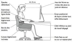 posture au bureau la position assise conseils aurore b cours de pilates