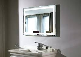 Heated Lights For Bathrooms Big Mirror With Lights Mirror Design