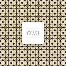 indonesian pattern indonesian kawung batik pattern free vector vector premium download