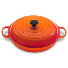 Creuset Pot Le Creuset 4 7 L Flame Braiser 5 Qt Ls2532 322 Williams