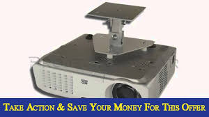 Video Projector Ceiling Mount by Projectorgear Projector Ceiling Mount For Optoma Tx1080 Youtube