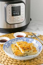 radish cake pressure cooker video christine u0027s recipes easy