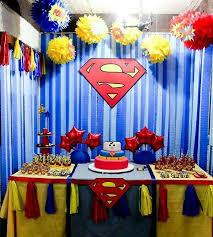 Batman Table Decorations 92 Best Fiesta Superman Images On Pinterest Superhero Party